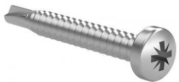 Halbrundkopf Bohrschraube DIN 7504 M ISO 15481