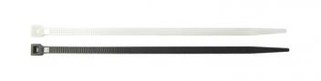 Kabelbinder schwarz / natur