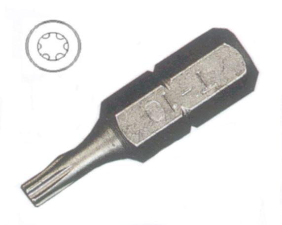Bit  - der bestellten Schrauben angepasst  Stück