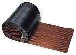 Aluflex 285 mm profiliert 5 Meter braun selbstklebend