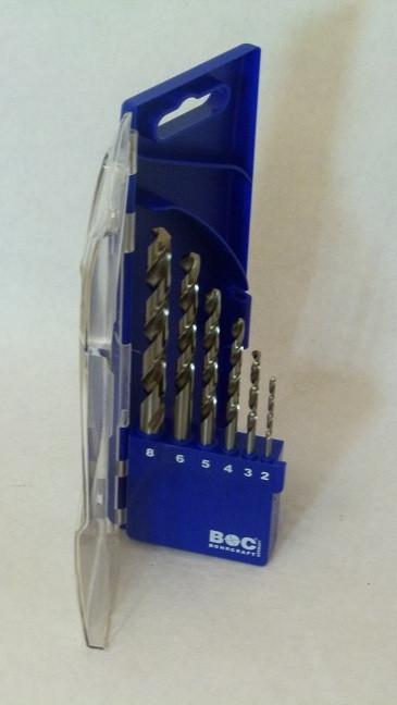 Bohrersatz geschliffen Bohrcraft 2 - 8 mm