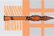 Mungo MQL Universal Fassadendübel 8 x 100 Senkkopf 10 Stk