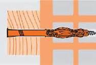Mungo MQL Universal Fassadendübel 8 x 160 Senkkopf 10 Stk