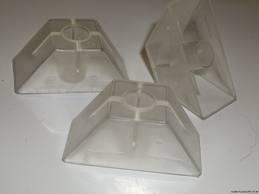 Abstandhalter für Trapezprofil 70/18 Poly  100 Stück