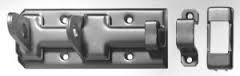 Sicherheits- Schloßriegel verzinkt 80 x 35 mm
