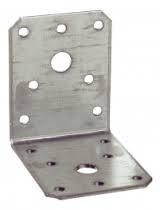 Winkelverbinder Edelstahl A2 50x50x35    1 Stück