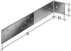 Flachstahl Betonanker 40 x 40 x 500 mm verzinkt