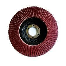 Fächerscheibe evolution G-AK Korn 80 rot 125 mm top Qualität