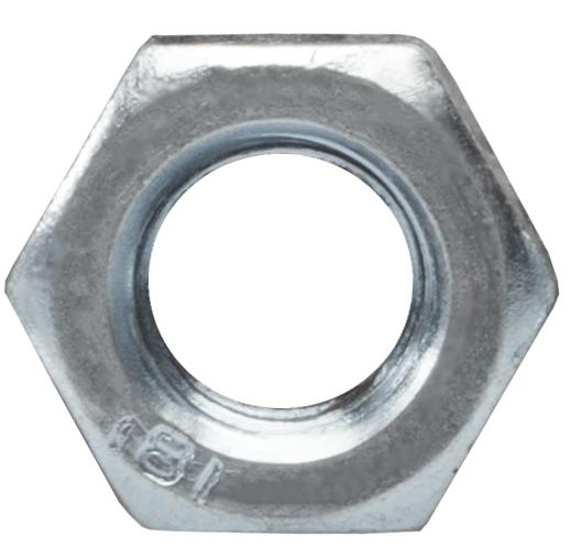 M 22 DIN 934 ISO 4032 Mutter sechskant verzinkt 1 Stück
