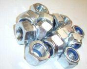 M 4 DIN 985 Sicherungsmutter verzinkt 100 Stück