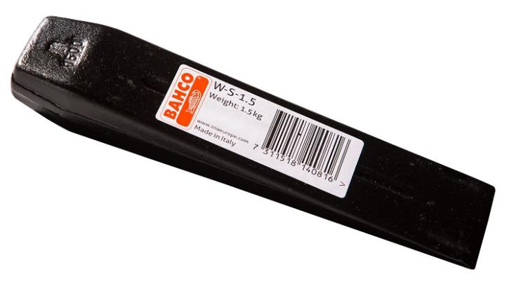 Spaltkeil aus Stahl, W-S-2.0 Bahco schwarz Sicherheitskeil Stahl
