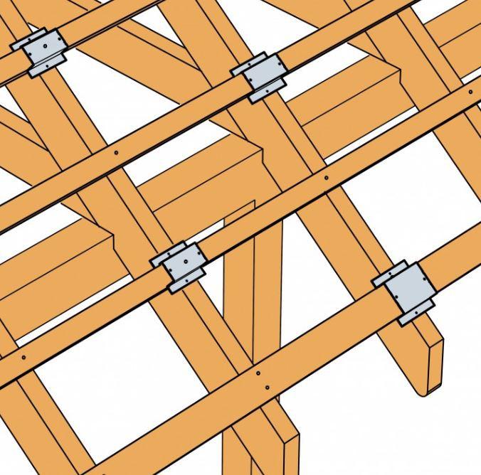 DLV 50 / 30 Dachlattenverbinder Simpson