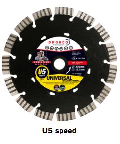 Diamanttrennscheibe evolution U5 Speed 125 mm