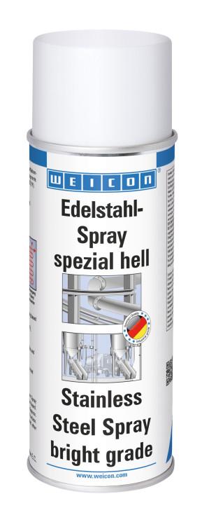 """Edelstahl Spray """"spezial hell"""" Oberflächenbeschichtung aus Edelstahl Weicon 400 ml"""