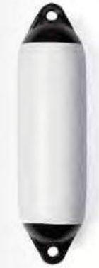 Fender Bootsfender Marinefender 120 x 450 mm weiß 1 Stück