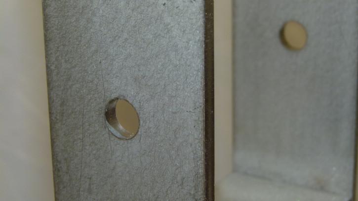 H-Pfostenträger aus Edelstahl A2 lang 101 x 800 x 80 x 8 schwer Stück