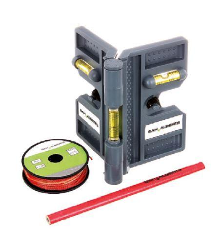 magnetische Montagehilfe 3 teilig für Pfostenträger