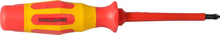 VDE Schraubendreher für Kreuzschlitz-Schrauben PH 1  Schraubenzieher Projahn 5105-01
