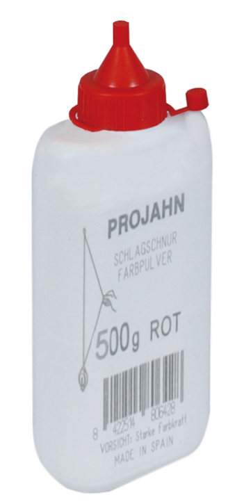 Farbpulver für Schlagschnur-Roller Rot 500 g