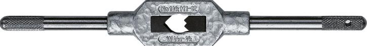 Verstellbares Windeisen für Gewindebohrer M1 - M12