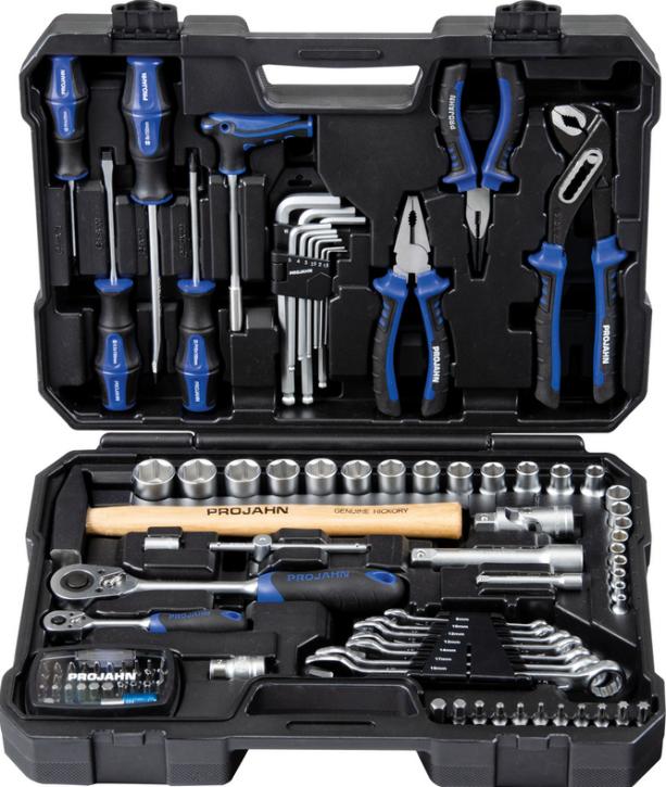 Universal-Werkzeugkoffer 98-tlg. Projahn 8666