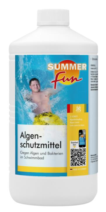 Algenschutzmittel 1 Liter Flasche Algen EX Algizid