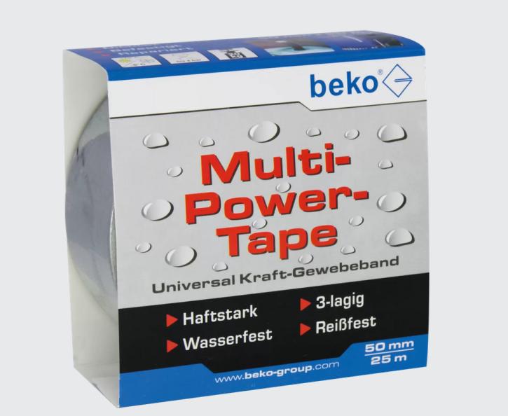 Multi-Power-Tape 50mm x 25m silber