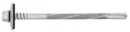 Fassadenbohrschraube mit 6,3 mm Stützgewinde für Stahl bis 12,5 mm 5,5/6,3 x 85    1Stück