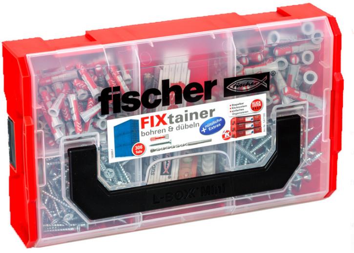 fischer FixTainer bohren & dübeln (306 Teile) Sortimentbox