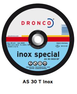 Trennscheiben special AS 30 T INOX 230 x 2,2 x 22,23