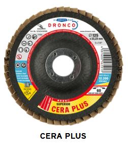 Fächerschleifscheibe Cera plus 125 x 22,23 Korn 80