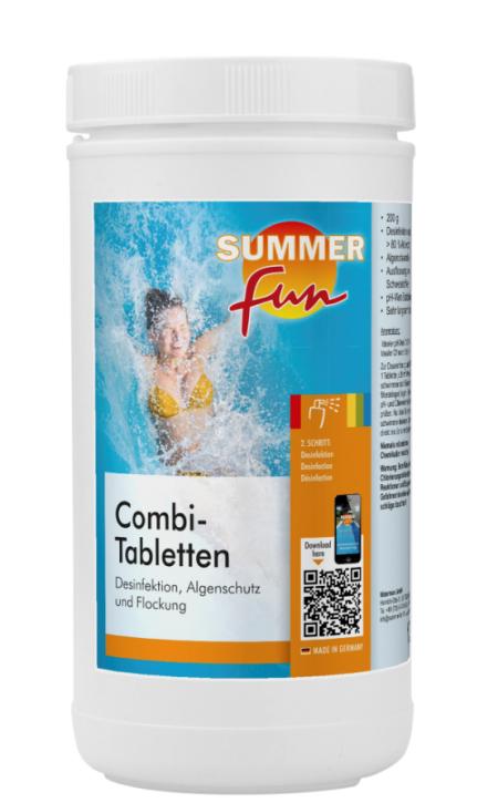 Combi-Tabletten à 200 g Multitabs 1,2 kg Dose