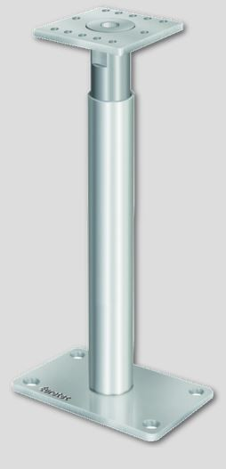 Stützenfuß PediX 300+150 MM mit Schrauben m. Zulassung