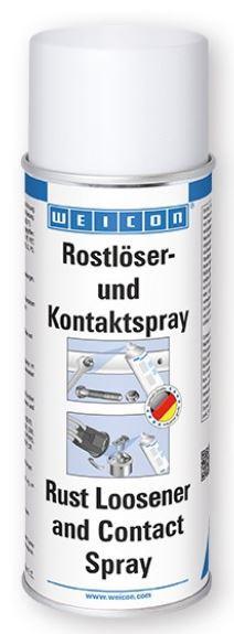 Rostlöser und Kontaktspray WEICON 400 ml