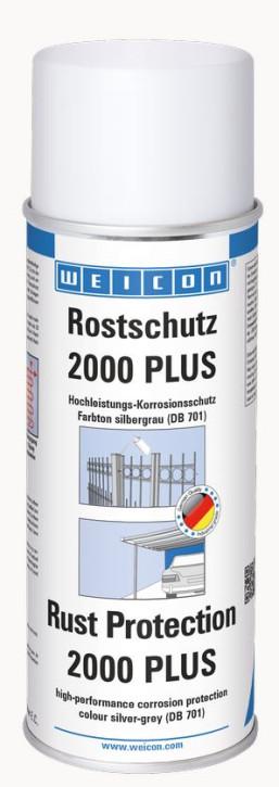 Rostschutz 2000 plus silbergrau Hochleistungs- Korrosionschutz 400 ml