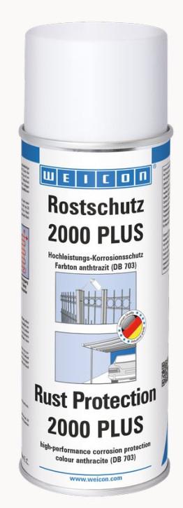 Rostschutz 2000 plus anthrazit Hochleistungs- Korrosionschutz 400 ml