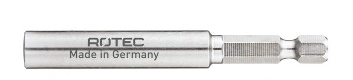 Magnetbihalter Edelstahl mit Sprengring 75MM