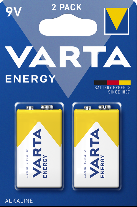 VARTA ENERGY  E- Block 9 V Blister 2 STK