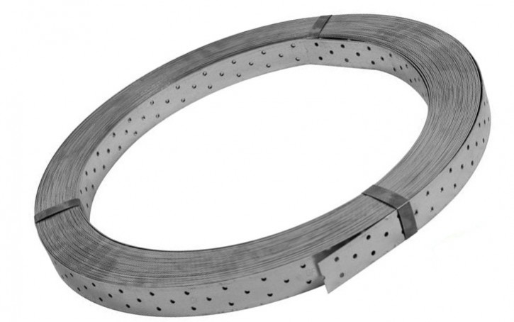 Rispenband 40 x 1,5 verzinkt 50 Meter Rolle Windrispenband