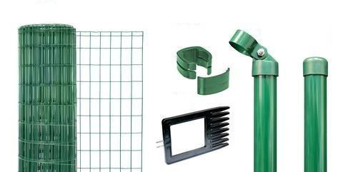 maschendraht schwei gitter zaun set. Black Bedroom Furniture Sets. Home Design Ideas