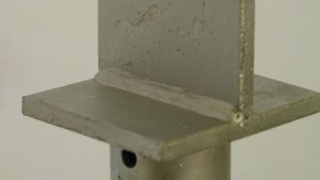 Stützenfuß zum Aufdübeln 380 MM feuerverzinkt Stück