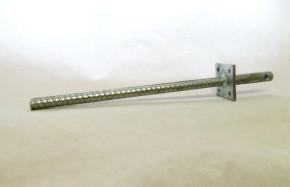 Stützenfuß in Beton mit fester Platte PCR 24/50 24 x 500MM feuerverzinkt