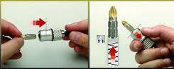 Magnetbihalter Quik Fix schnellwechselhalter mit Magnet