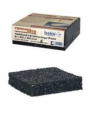TerraSYS Unterlage Pads 20 x 90 x 60 mm     / Stück