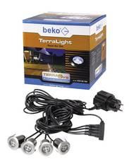TerraLight LED-Leuchten Basis 4er-Set