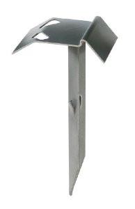Auflaufstütze mit 370 mm Dorn feuerverzinkt