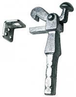 Torfeststeller in Beton mit Steindolle und Winkel verzinkt