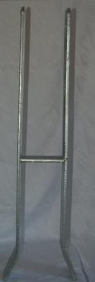 121 x 10 x 720 x 100  MM H-Pfostenträger extra schwer feuer-vz