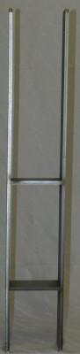 H-Pfostenträger aus Edelstahl A2 lang 161 x 800 x 80 x 8 schwer Stück