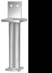 Simpson Stützenfuß PIS Maxi zum Einbetonieren feuerverzinkt Stück